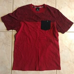Nike T-Shirt Small Men's Red